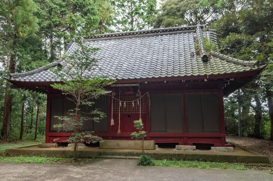 楯縫神社(信太)の社殿