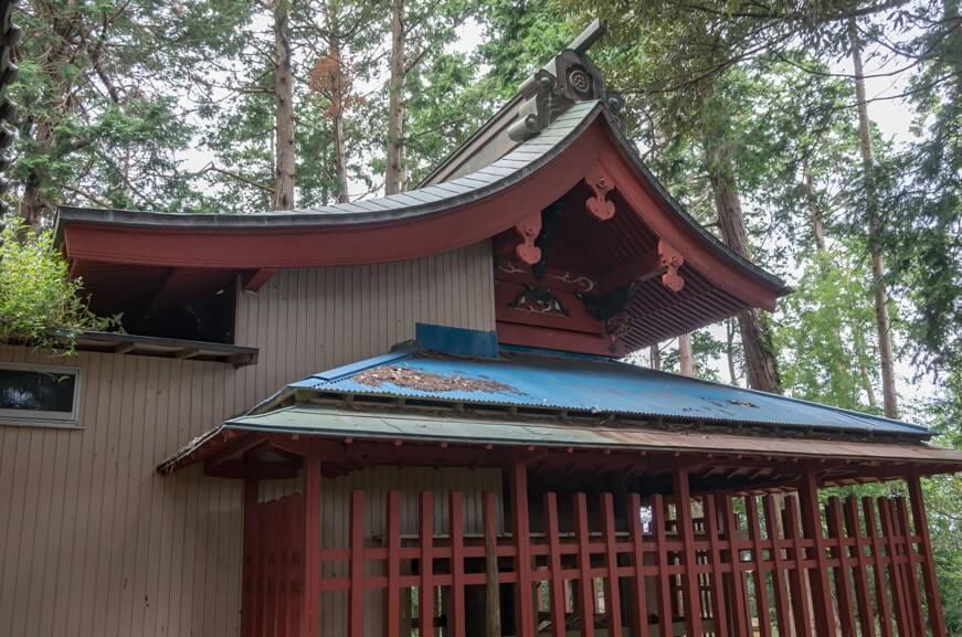 楯縫神社(信太)の本殿