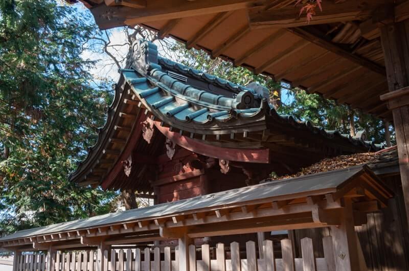 中佐谷香取神社の本殿