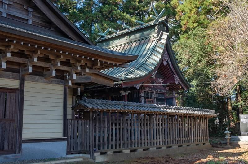 二木天満神社の本殿
