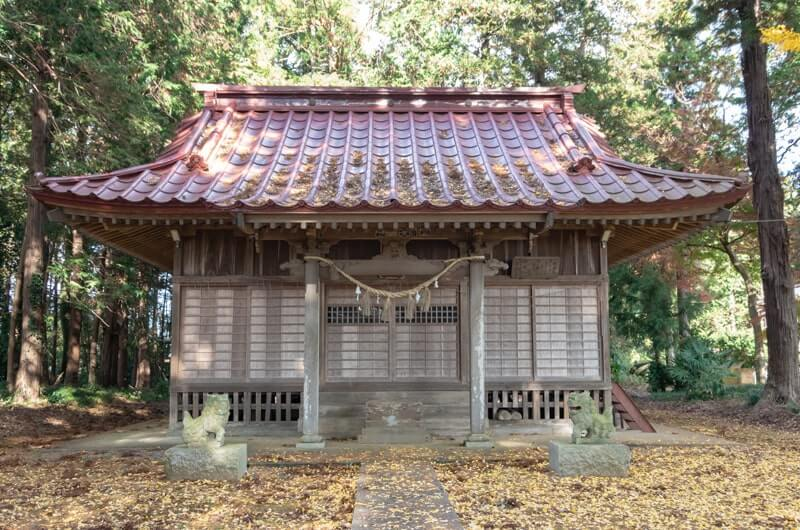 若宮八幡神社の拝殿