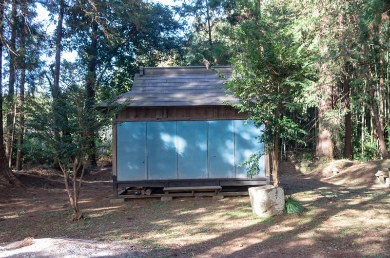 五反田八幡神社の拝殿
