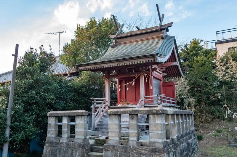 志戸崎鹿島神社の本殿