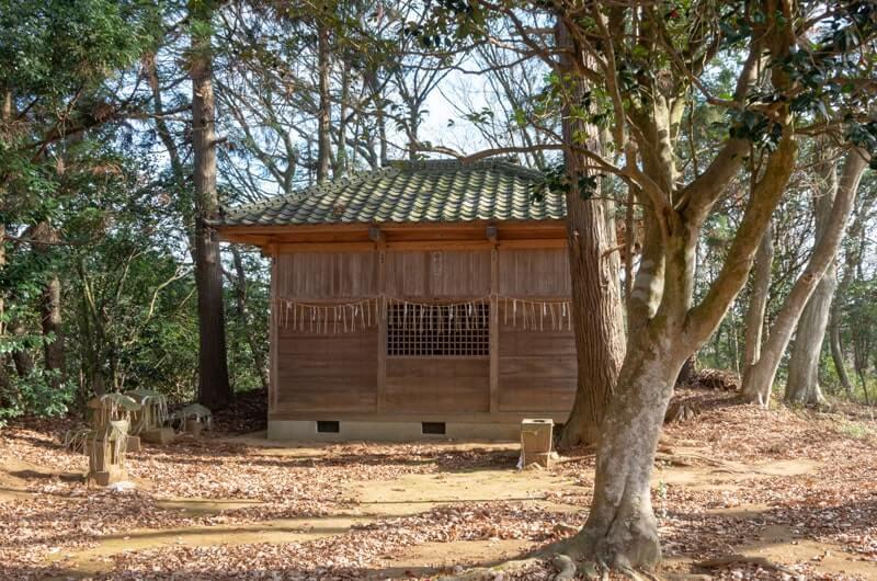 横堀鹿島神社の拝殿