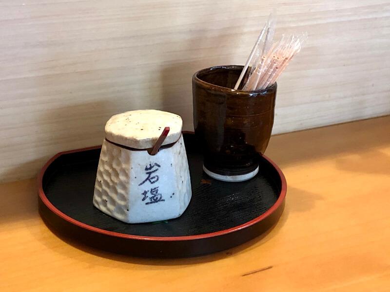 天ぷらで使う岩塩