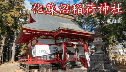 内宿の化蘇沼稲荷神社|行方市