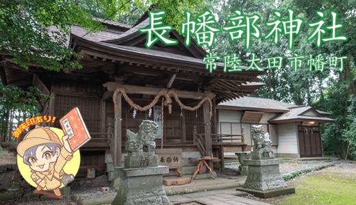 【式内社】機織の神を祀る長幡部神社|常陸太田市