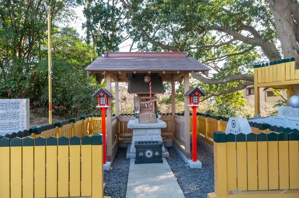 ほしいも神社の社殿