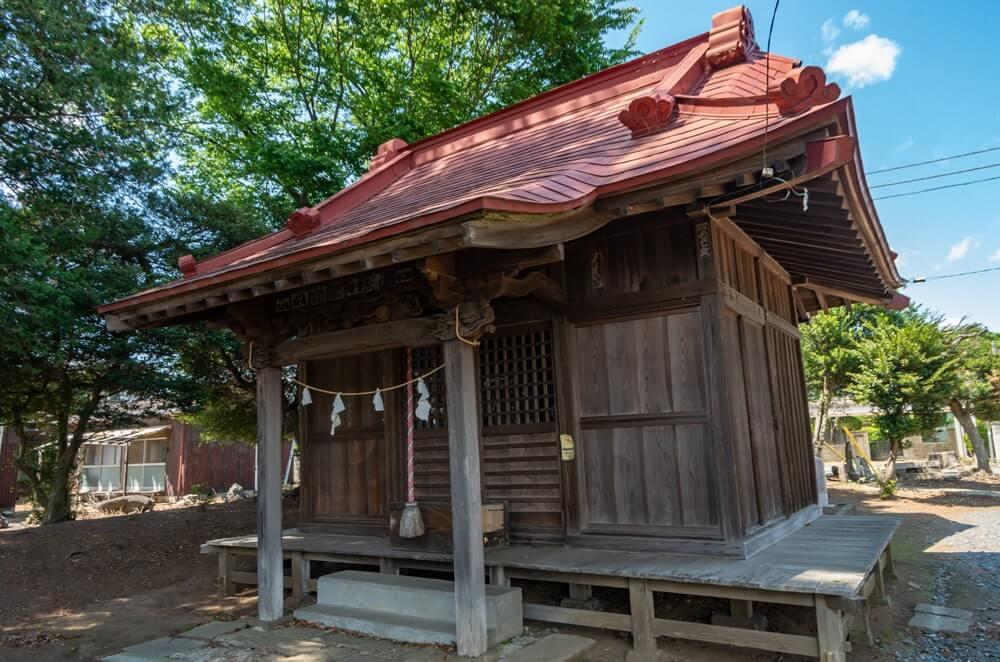 五助稲荷神社の社殿