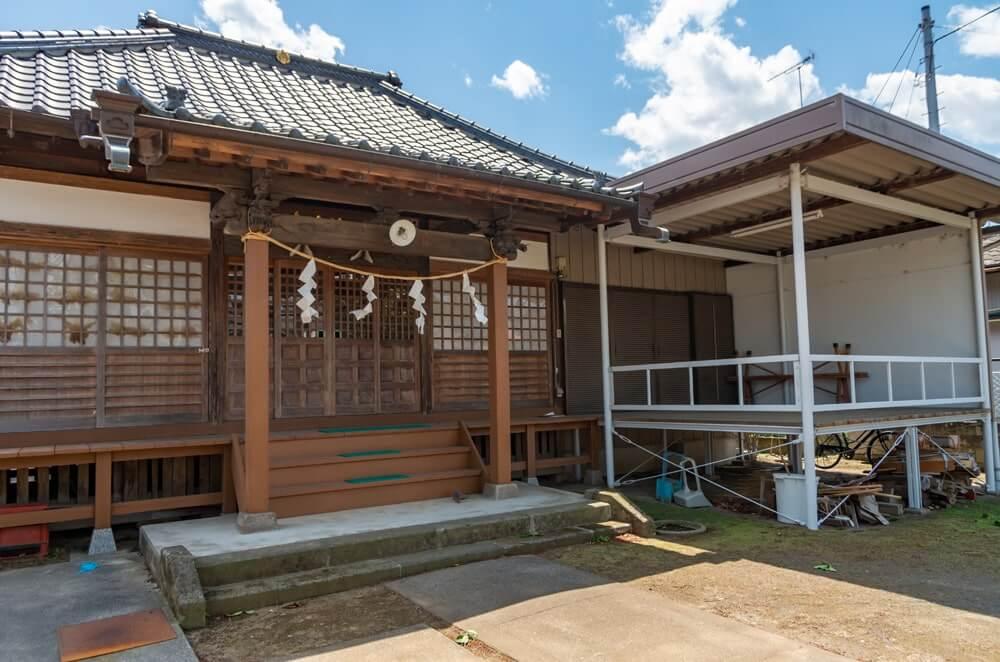蛭児神社の社殿