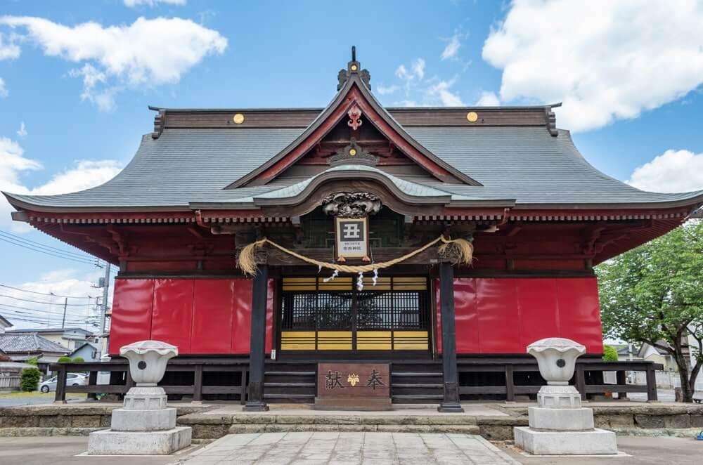 住吉神社の社殿