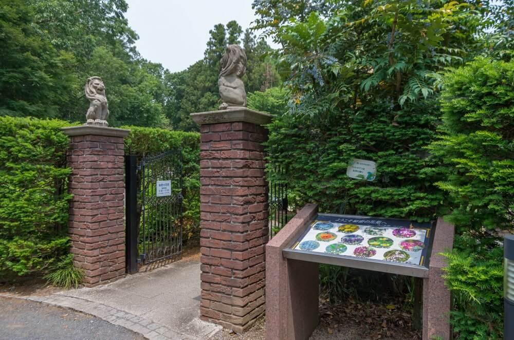 秘密の花苑入口