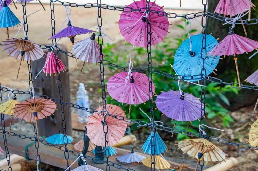 傘のおみくじ