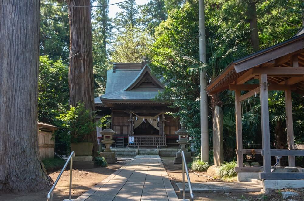 瓜連素鵞神社